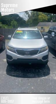 2011 Kia Sorento for sale at Supreme Motors in Tavares FL