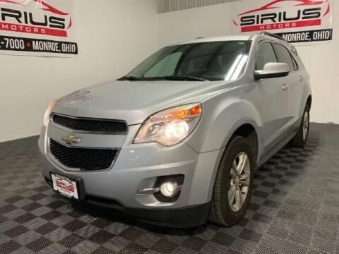 2014 Chevrolet Equinox for sale at SIRIUS MOTORS INC in Monroe OH