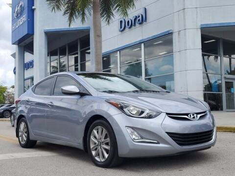 2016 Hyundai Elantra for sale at DORAL HYUNDAI in Doral FL
