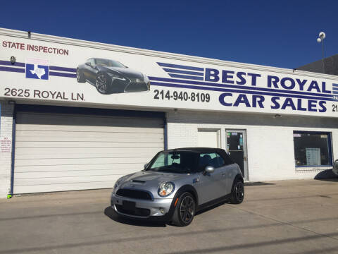 2009 MINI Cooper for sale at Best Royal Car Sales in Dallas TX