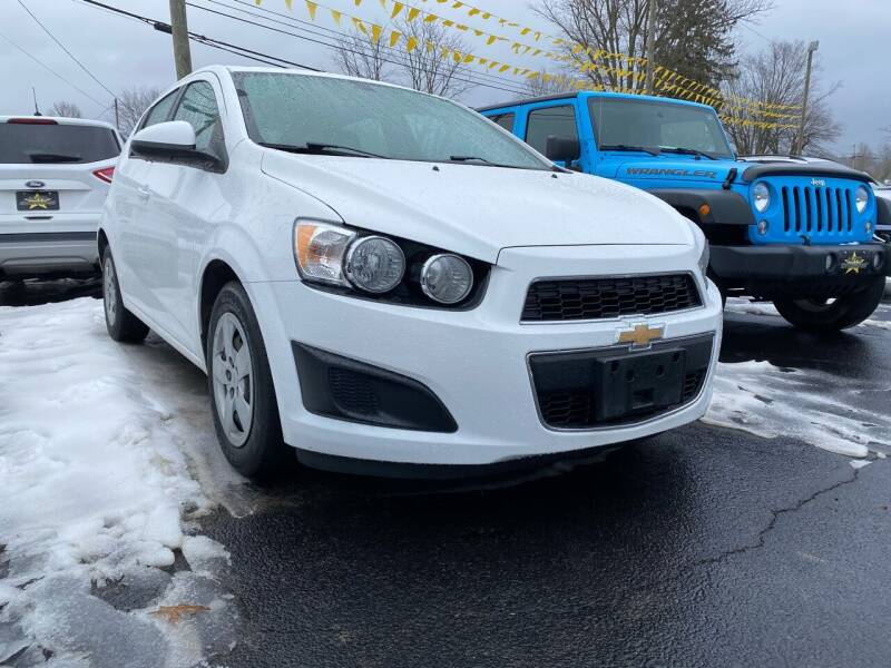 2016 Chevrolet Sonic for sale at Auto Exchange in The Plains OH