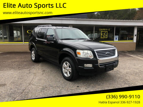 2010 Ford Explorer for sale at Elite Auto Sports LLC in Wilkesboro NC