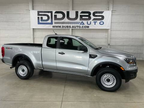 2020 Ford Ranger for sale at DUBS AUTO LLC in Clearfield UT