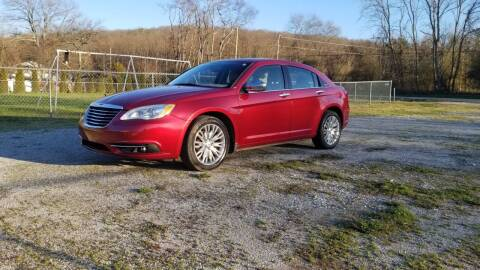 2012 Chrysler 200 for sale at Tennessee Valley Wholesale Autos LLC in Huntsville AL