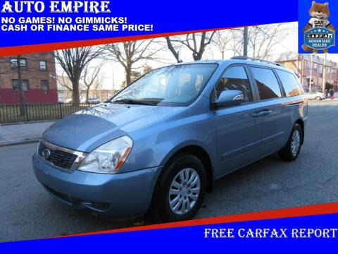 2011 Kia Sedona for sale at Auto Empire in Brooklyn NY