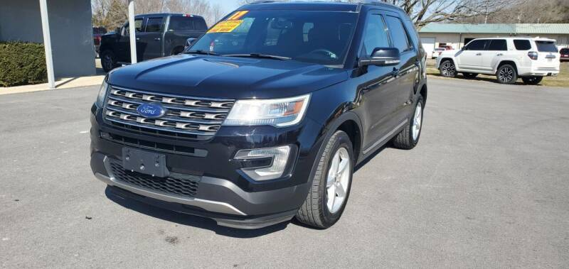 2017 Ford Explorer for sale at Jacks Auto Sales in Mountain Home AR