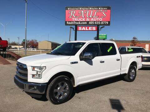 2016 Ford F-150 for sale at RAUL'S TRUCK & AUTO SALES, INC in Oklahoma City OK