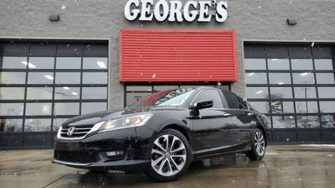 2014 Honda Accord for sale at George's Used Cars - Telegraph in Brownstown MI