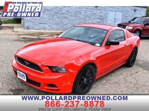 2014 Ford Mustang for sale at South Plains Autoplex by RANDY BUCHANAN in Lubbock TX