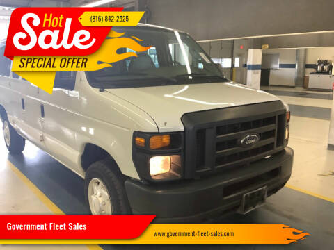 2008 Ford E-Series Wagon for sale at Government Fleet Sales in Kansas City MO