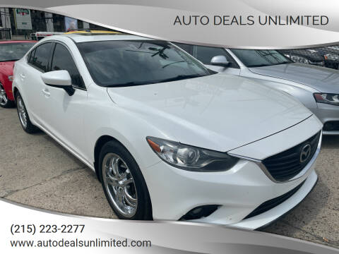2014 Mazda MAZDA6 for sale at AUTO DEALS UNLIMITED in Philadelphia PA