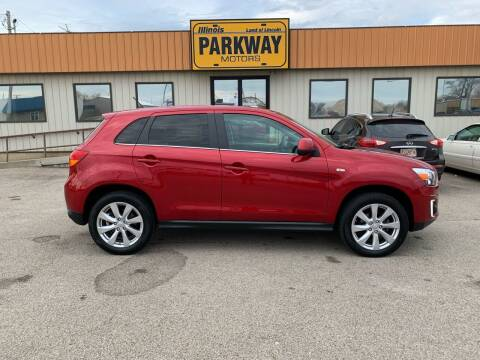 2015 Mitsubishi Outlander Sport for sale at Parkway Motors in Springfield IL