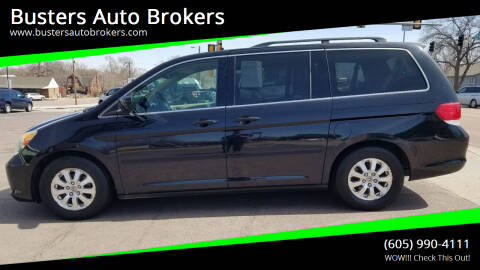2008 Honda Odyssey for sale at Busters Auto Brokers in Mitchell SD