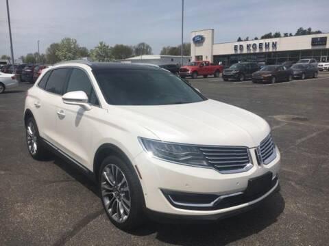 2016 Lincoln MKX for sale at Ed Koehn Chevrolet in Rockford MI