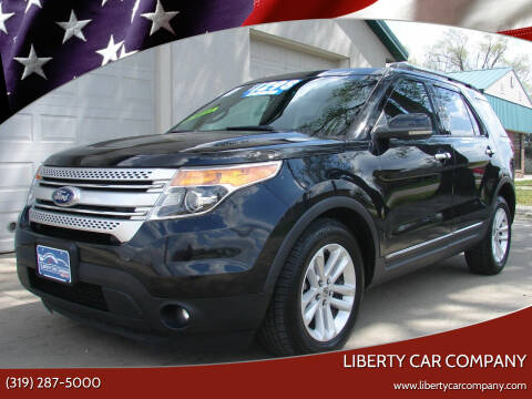2011 Ford Explorer for sale at Liberty Car Company - II in Waterloo IA