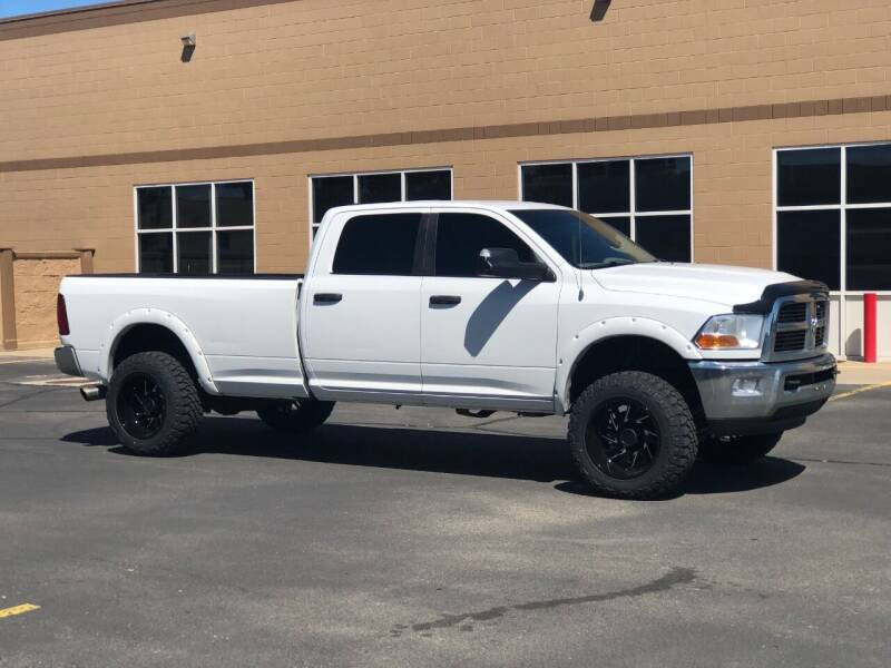 2011 RAM Ram Pickup 3500 for sale at Hoskins Trucks in Bountiful UT