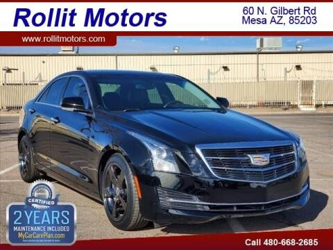 2016 Cadillac ATS for sale at Rollit Motors in Mesa AZ
