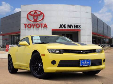 2014 Chevrolet Camaro for sale at Joe Myers Toyota PreOwned in Houston TX