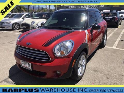 2014 MINI Countryman for sale at Karplus Warehouse in Pacoima CA