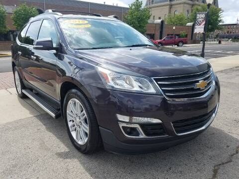 2015 Chevrolet Traverse for sale at BELLEFONTAINE MOTOR SALES in Bellefontaine OH