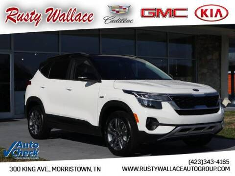 2021 Kia Seltos for sale at RUSTY WALLACE CADILLAC GMC KIA in Morristown TN