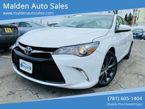 2017 Toyota Camry for sale at Malden Auto Sales in Malden MA