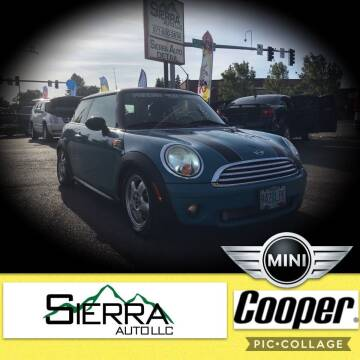 2009 MINI Cooper for sale at SIERRA AUTO LLC in Salem OR