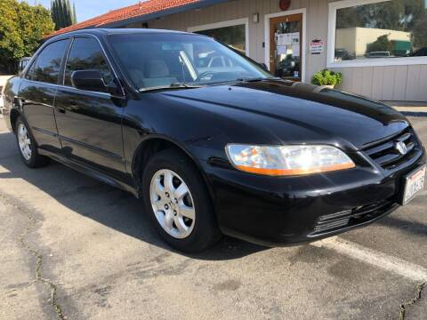 2001 Honda Accord for sale at Martinez Truck and Auto Sales in Martinez CA