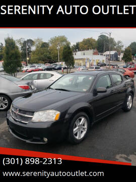 2009 Dodge Avenger for sale at SERENITY AUTO OUTLET in Frederick MD