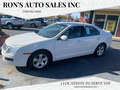 2009 Ford Fusion for sale at RON'S AUTO SALES INC in Cicero IL