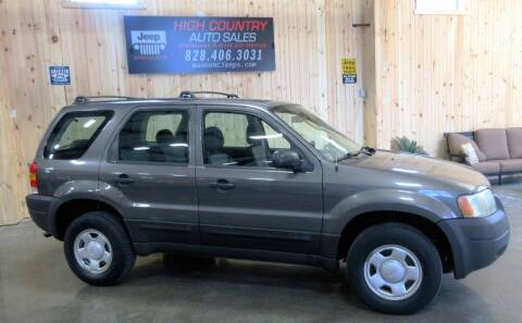 2003 Ford Escape for sale at Boone NC Jeeps-High Country Auto Sales in Boone NC
