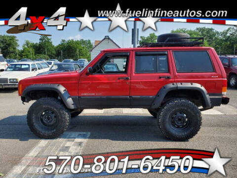 2001 Jeep Cherokee for sale at FUELIN FINE AUTO SALES INC in Saylorsburg PA