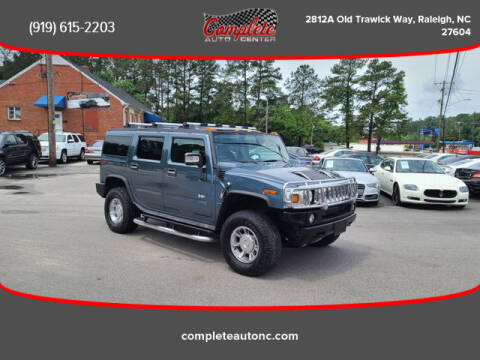 2007 HUMMER H2 for sale at Complete Auto Center , Inc in Raleigh NC