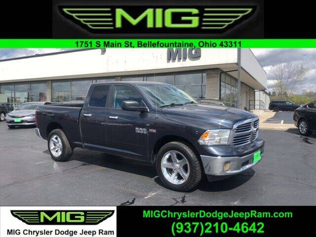 2014 RAM Ram Pickup 1500 for sale at MIG Chrysler Dodge Jeep Ram in Bellefontaine OH