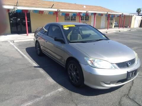 2005 Honda Civic for sale at Car Spot in Las Vegas NV