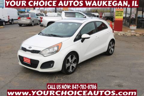 2012 Kia Rio 5-Door for sale at Your Choice Autos - Waukegan in Waukegan IL
