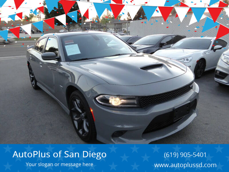 2019 Dodge Charger for sale at AutoPlus of San Diego in Spring Valley CA