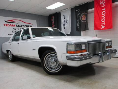 1981 Cadillac Fleetwood Brougham for sale at TEAM MOTORS LLC in East Dundee IL