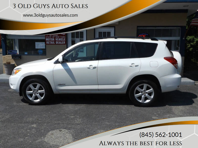 2008 Toyota RAV4 for sale at 3 Old Guys Auto Sales in Newburgh NY