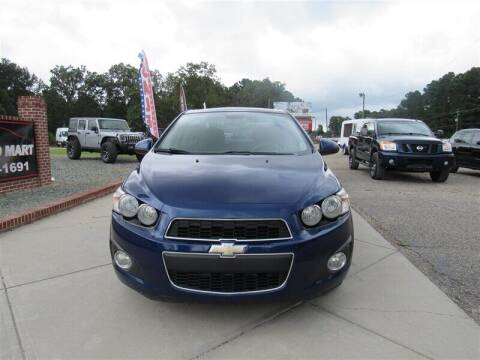 2013 Chevrolet Sonic for sale at J T Auto Group in Sanford NC