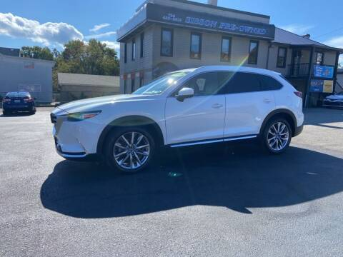2018 Mazda CX-9 for sale at Sisson Pre-Owned in Uniontown PA
