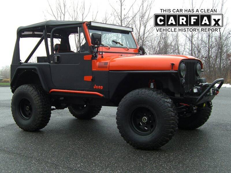 1983 Jeep CJ-7 for sale at Atlantic Car Company in East Windsor CT