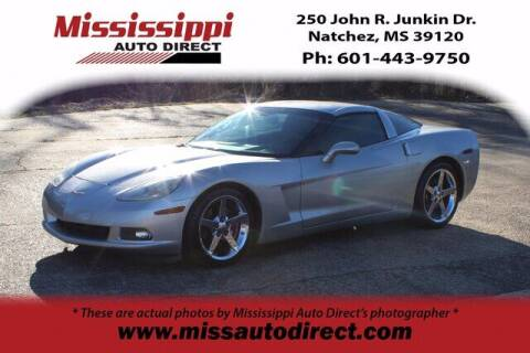 2005 Chevrolet Corvette for sale at Auto Group South - Mississippi Auto Direct in Natchez MS