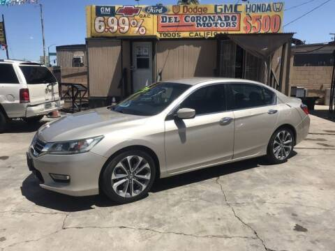 2013 Honda Accord for sale at DEL CORONADO MOTORS in Phoenix AZ