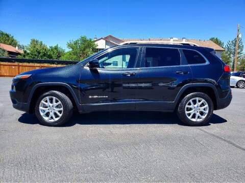 2015 Jeep Cherokee for sale at INVICTUS MOTOR COMPANY in West Valley City UT