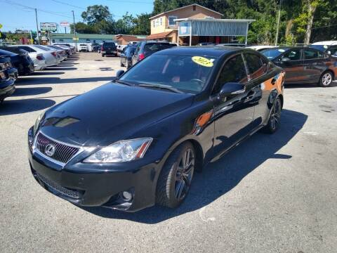 2013 Lexus IS 250 for sale at Gold Motors Auto Group Inc in Tampa FL