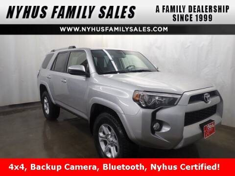 2019 Toyota 4Runner for sale at Nyhus Family Sales in Perham MN