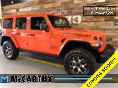 2020 Jeep Wrangler Unlimited for sale at Mr. KC Cars - McCarthy Hyundai in Blue Springs MO