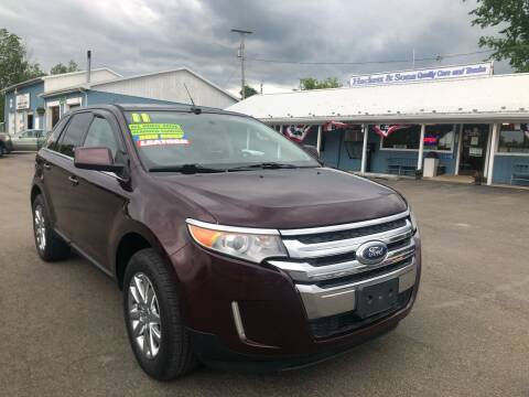 2011 Ford Edge for sale at HACKETT & SONS LLC in Nelson PA