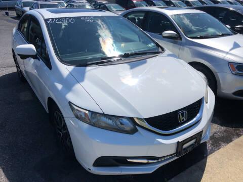 2015 Honda Civic for sale at Matt-N-Az Auto Sales in Allentown PA